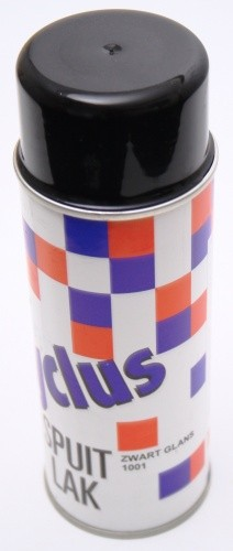 Cyclus Sprühfarbe GLOSS BLACK 400 ML