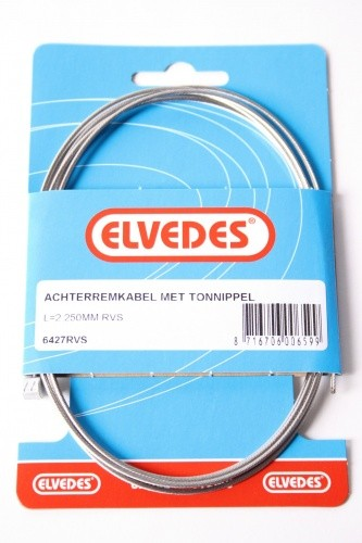 Elvedes BRAKE CABLE TONNIPPEL L = 2250mm SS 6427