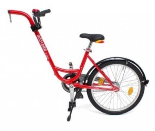 Roland Aanhangfiets Add+Bike 20 Zoll 42 cm Junior Rot