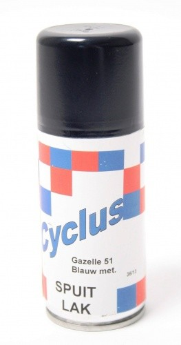 Gazelle Sprühfarbe 150 ML Blau Metallic