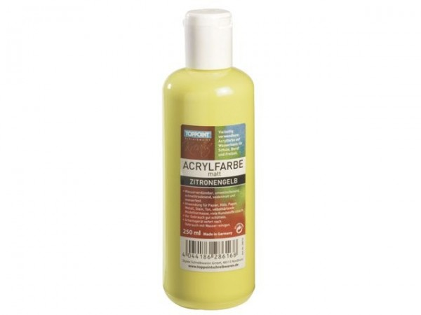 Toppoint Acrylfarbe 250 ml gelb